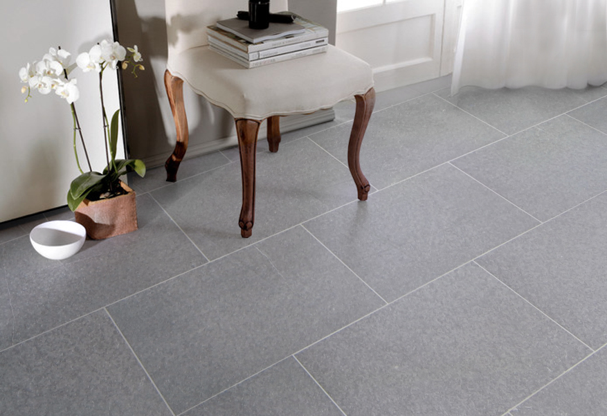 Belgian Grey porcelain tiles