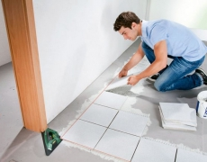 How to Lay a Tile Floor – Part 2