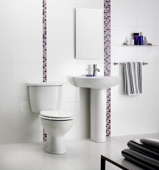 Black Gloss Kitchen Floor Tiles: Virgin Super White High Glosssize: 60x30cm