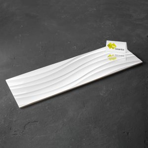 Super-White-Shiny-Waves Porcelain Tiles Ceramic Tiles